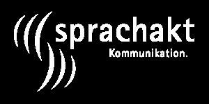 Sprachakt Logo weiss